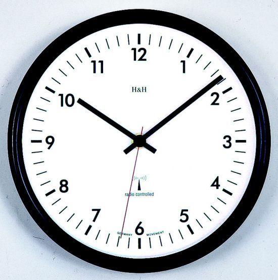 Hodiny na zeď Nástěnné hodiny řízené rádiovým signálem 3165.1 RC, 3166.2 RC, 3206.4 RC 142209 hh Designové hodiny