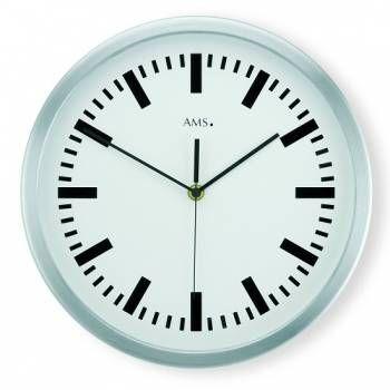 Hodiny na zeď Nástěnné hodiny řízené rádiovým signálem AMS 5840 146312 Designové hodiny