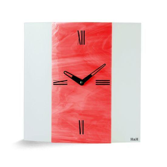 Hodiny na zeď Nástěnné hodiny skleněné 1033.1, 1035.3, 1032.4 138610 H&H Designové hodiny