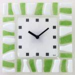 Hodiny na zeď Nástěnné hodiny skleněné 1084.7, 1086.9 138978 H&H Designové hodiny