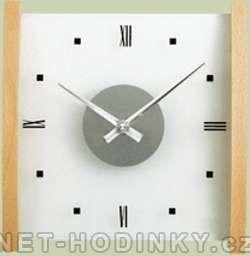Hodiny na zeď Nástěnné hodiny skleněné H+H 1102.3, 1103.2 138987 H&H Designové hodiny