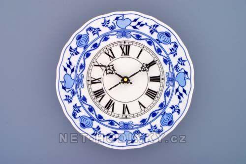 Hodiny na zeď Nástěnné porcelánové hodiny Cibulák 145273 Designové hodiny