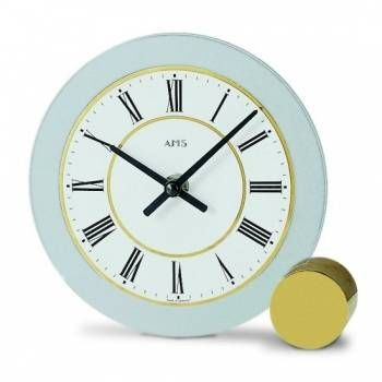 Hodiny na zeď Stolní hodiny AMS 168 146333 Designové hodiny