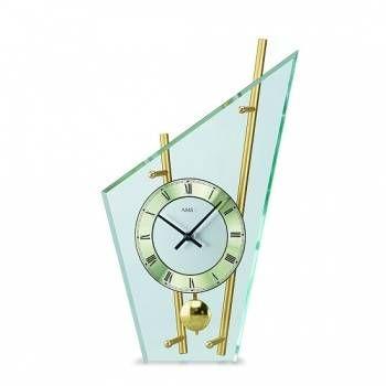 Stolní hodiny - pendlovky AMS 155, 153 146337 Hodinářství