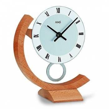 Hodiny na zeď Stolní hodiny - pendlovky AMS 163 146335 Designové hodiny