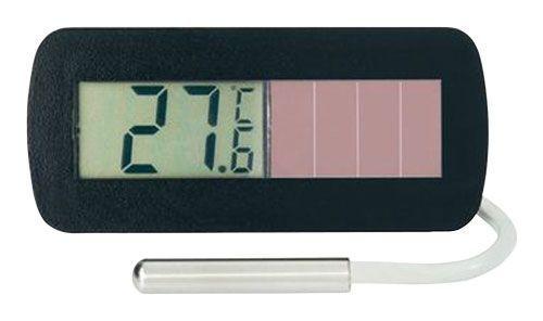 Teploměr digitální solární vestavný SLT-10.1 s tepelným čidlem 145587