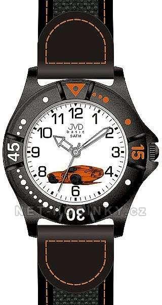 JVD Dětské náramkové hodinky J7103.4.1, J7103.5.2, J7103.6.3 151236 J7103.4.1 oranžová