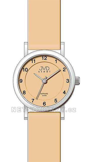 Dětské náramkové hodinky JVD- 3 barevné kombinace 151249