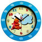 Dětské nástěnné hodiny kulaté medvídek POOH 149930