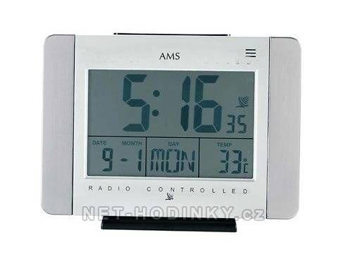Digitální rádiem řízené hodiny stolní AMS 5126 151289