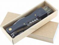 Houbařský nůž s dřevěnou rukojetí. 150281 Hodinářství