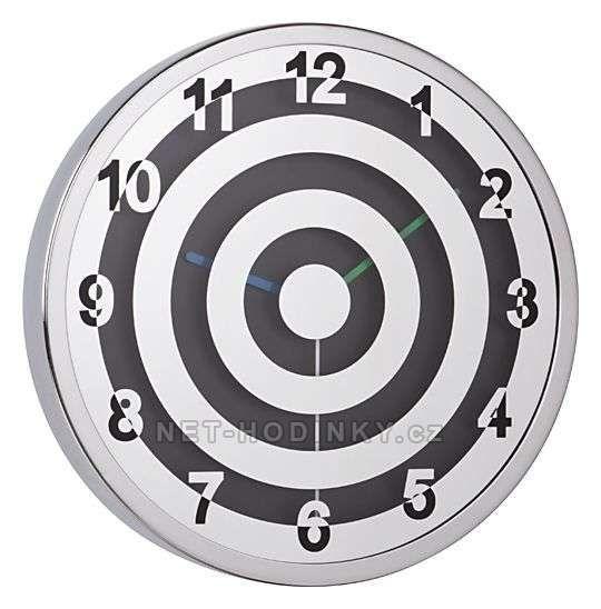 JVD Kovové nástěnné hodiny H90 151751
