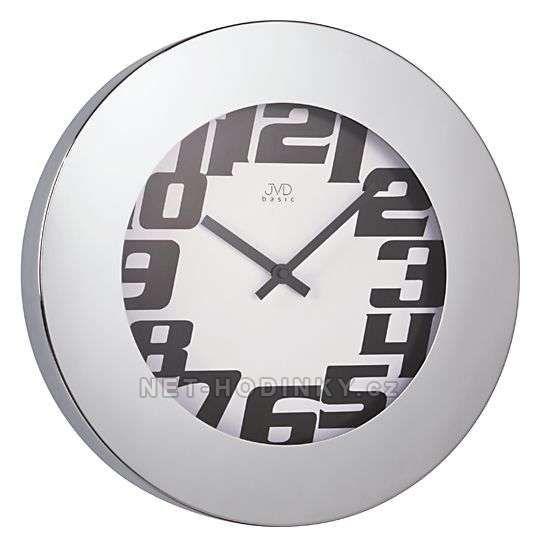 JVD Kovové nástěnné hodiny H91 151752