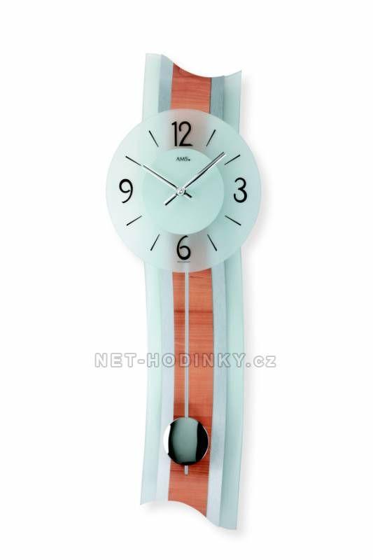 Kyvadlové hodiny AMS 7305, 7306 149911 Hodinářství