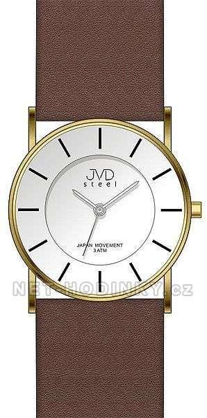 Moderní dámské hodinky JVD J1064.2.1, J1064.3.2 150332 černá