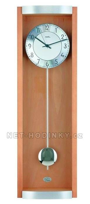 Moderní kyvadlové hodiny AMS 5285/11, 5258/18 151265 AMS 5285/18