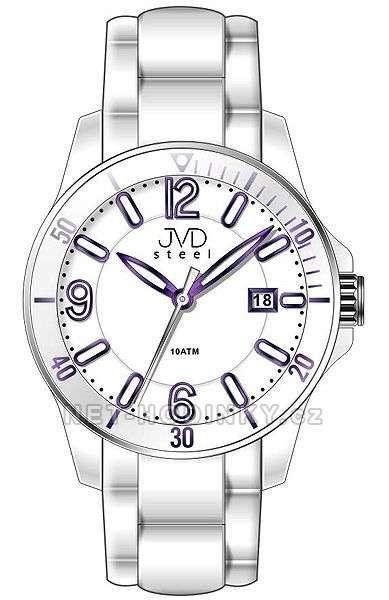 Náramkové hodinky JVD steel W07.2.1 151791