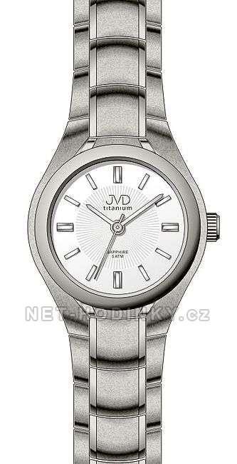 Hodiny na zeď Náramkové hodinky JVD titanium J5022.2.1 151839 Designové hodiny