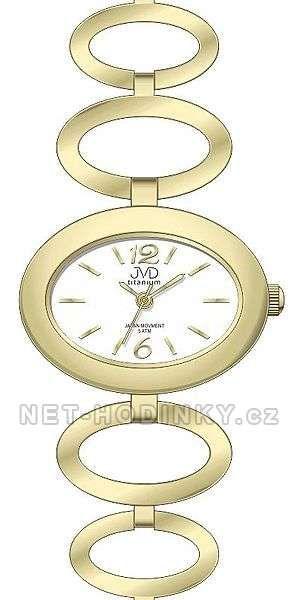 Náramkové hodinky JVD titanium J5023.1 151837