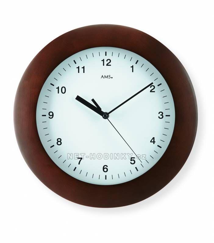 Nástěnné hodiny AMS 5904/1, 5904/18 149919 AMS 5904/18