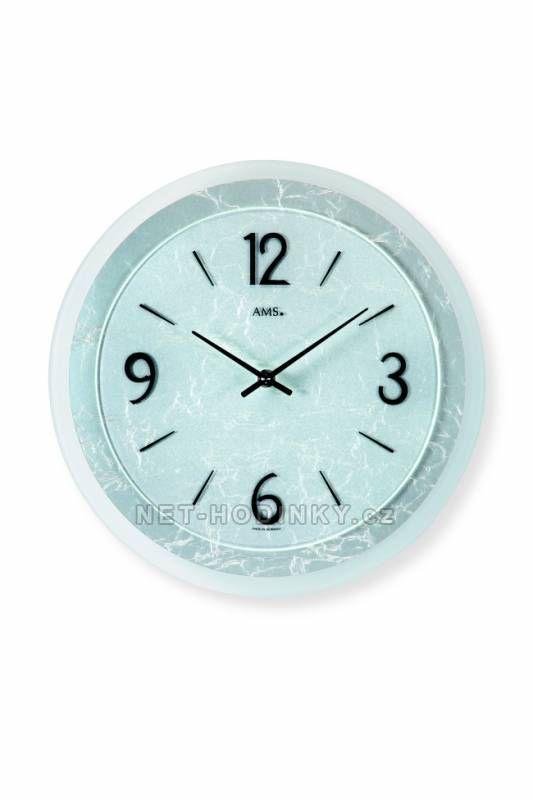 Nástěnné hodiny AMS 9339 149924 autorské hodiny Hodinářství