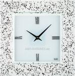 Nástěnné hodiny čtvercové 1172.3 skleněné 150160