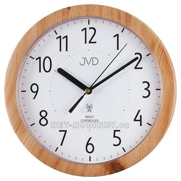 Rádiem řízené hodiny JVD RH612 s plynulým chodem 151660 RH 612.11.3 šedá