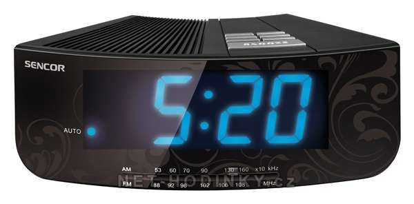Radiobudík Sencor 151597 černý