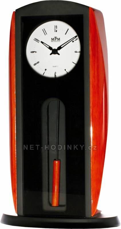 autorské hodiny Stolní dřevěné hodiny T018 150471