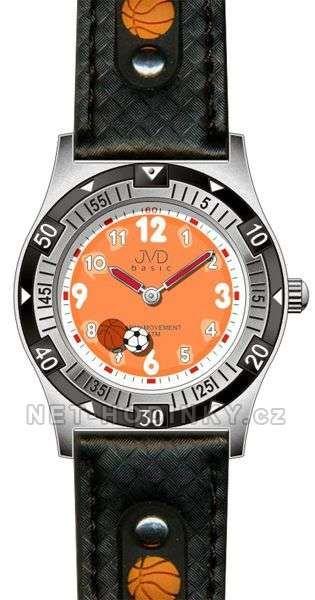Chlapecké náramkové hodinky JVD basic J7038.1.1, J7038.3.2, J7038.4.3 152185 J7038.1.1