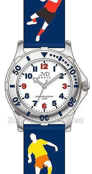 Chlapecké náramkové hodinky JVD basic J7113.1.1, J7113.2.2, J7113.3.3 152186 J7113.1.1