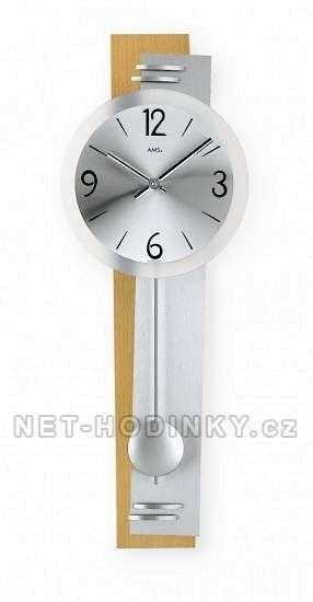 Kyvadlové hodiny AMS 7255/18 152009