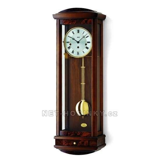 Mechanické kyvadlové hodiny AMS 2607/9 třešeň, 2607/1 ořech 152057 2607/1 ořech