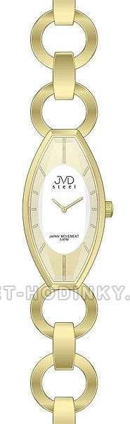 Náramkové hodinky dámské JVD steel J4094.3.3 152203