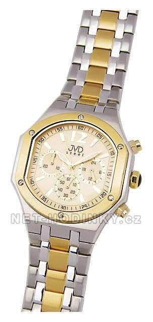 Náramkové hodinky JVD steel C1128.6.2 151956
