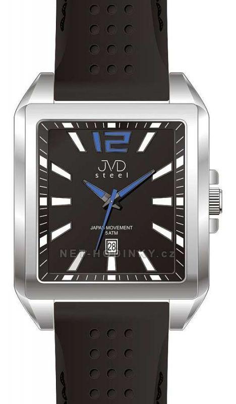 Náramkové hodinky JVD steel J1081.1.1, J1081.2, J1081.3.3 151917 J1081.3.3