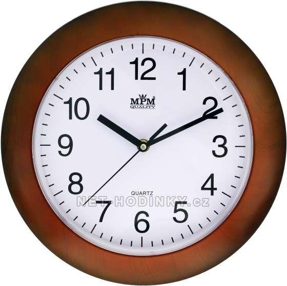 Hodiny na zeď Nástěnné hodiny 152091 MPM Quality Designové hodiny