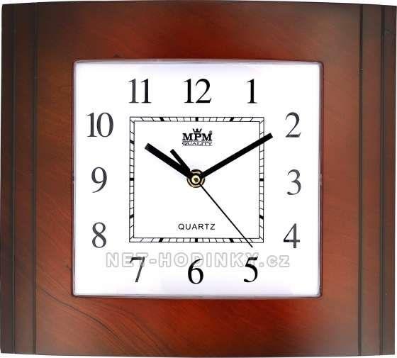 Nástěnné hodiny E01.2801.5 152088 MPM Quality Hodinářství