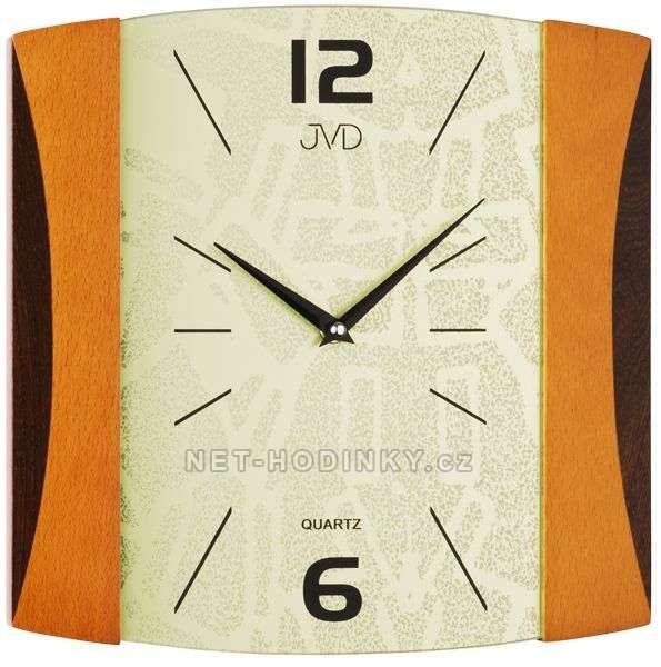 Nástěnné hodiny JVD quartz N12015.1.1, Nástěnné hodiny JVD quartz N12015.2.2 152334 N12015.2.2