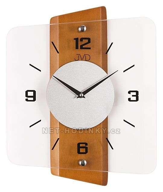 Nástěnné hodiny JVD quartz N20131.41.3, N20131.68, N20131.11 152506 N20131.68.1 olše