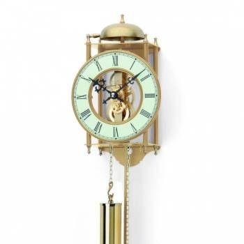Originální mechanické kyvadlové kovové hodiny AMS 303 152018