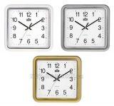 Plastové hodiny čtverec E01.2928.S 152476