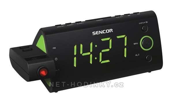 Sencor Radiobudík SENCOR SRC-330 GN projekční 152352 oranžová