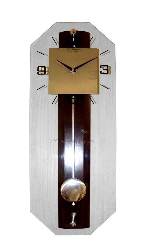 Hodiny kyvadlové QUARTZ dřevo HGS010T.11 154057 Hodiny
