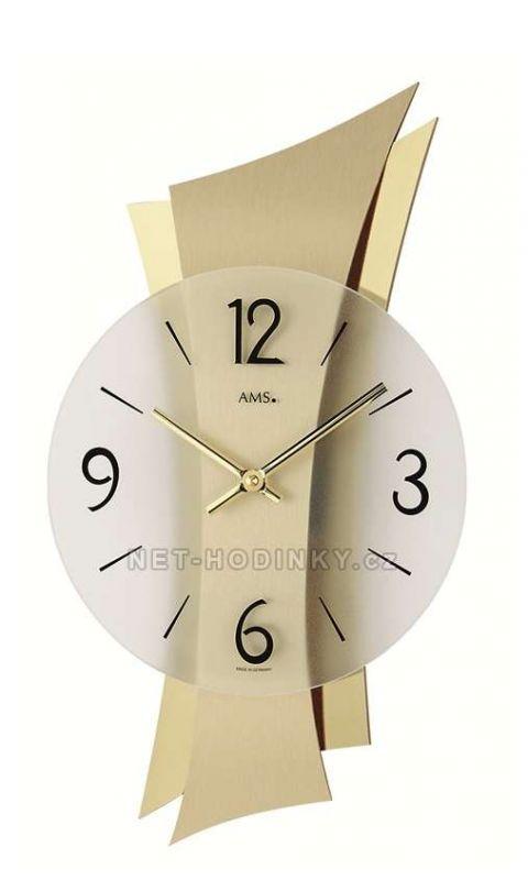 Hodiny quartzové AMS 9397 hodiny na zeď 154165 Hodiny