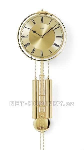 Mechanické kyvadlové hodiny AMS 356 154140