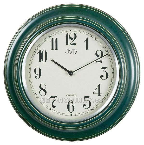 N 27044.1.1, N 27044.2 - Analogové bateriové nástěnné hodiny JVD 154000 N 27044.1.1