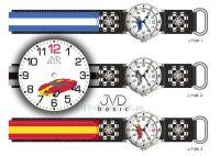 Náramkové chlapecké hodinky J7126.1 modrá, J7126.2 šedá, J7126.3 červená 154023 JVD Hodiny