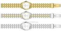 Náramkové dámské hodinky JVD steel J4116.1.1 153995 Hodiny