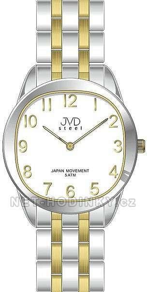 Náramkové dámské hodinky JVD steel J4116.2.2 153996 Hodiny